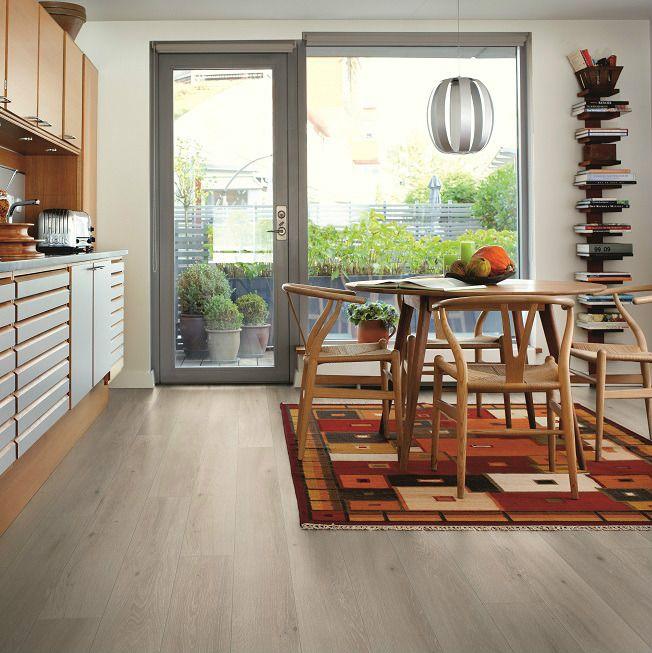 Laminate Flooring Pergo Cottage Grey Oak Long Plank