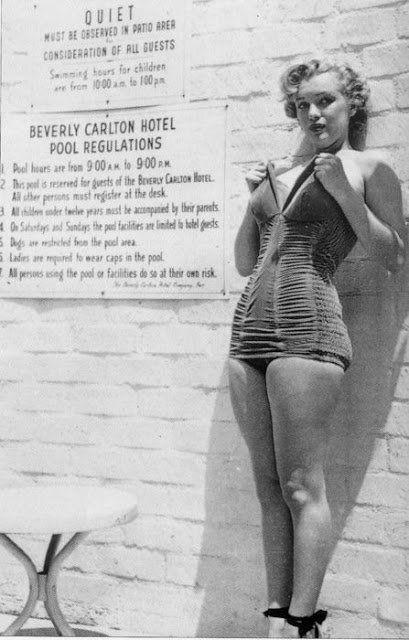 Bellezze al bagno, i bikini delle star negli anni 50   Idol