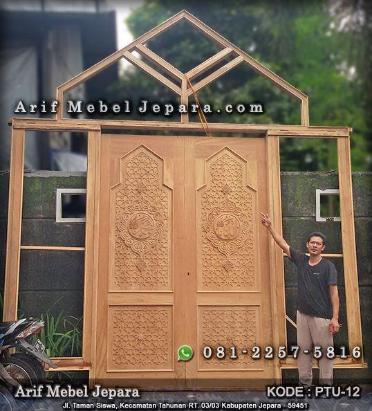 kusen pintu masjid kayu jati modern modern pintu kayu kusen pintu masjid kayu jati modern