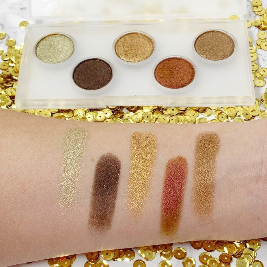 Pat McGrath mini eyeshadow palette review. A full review