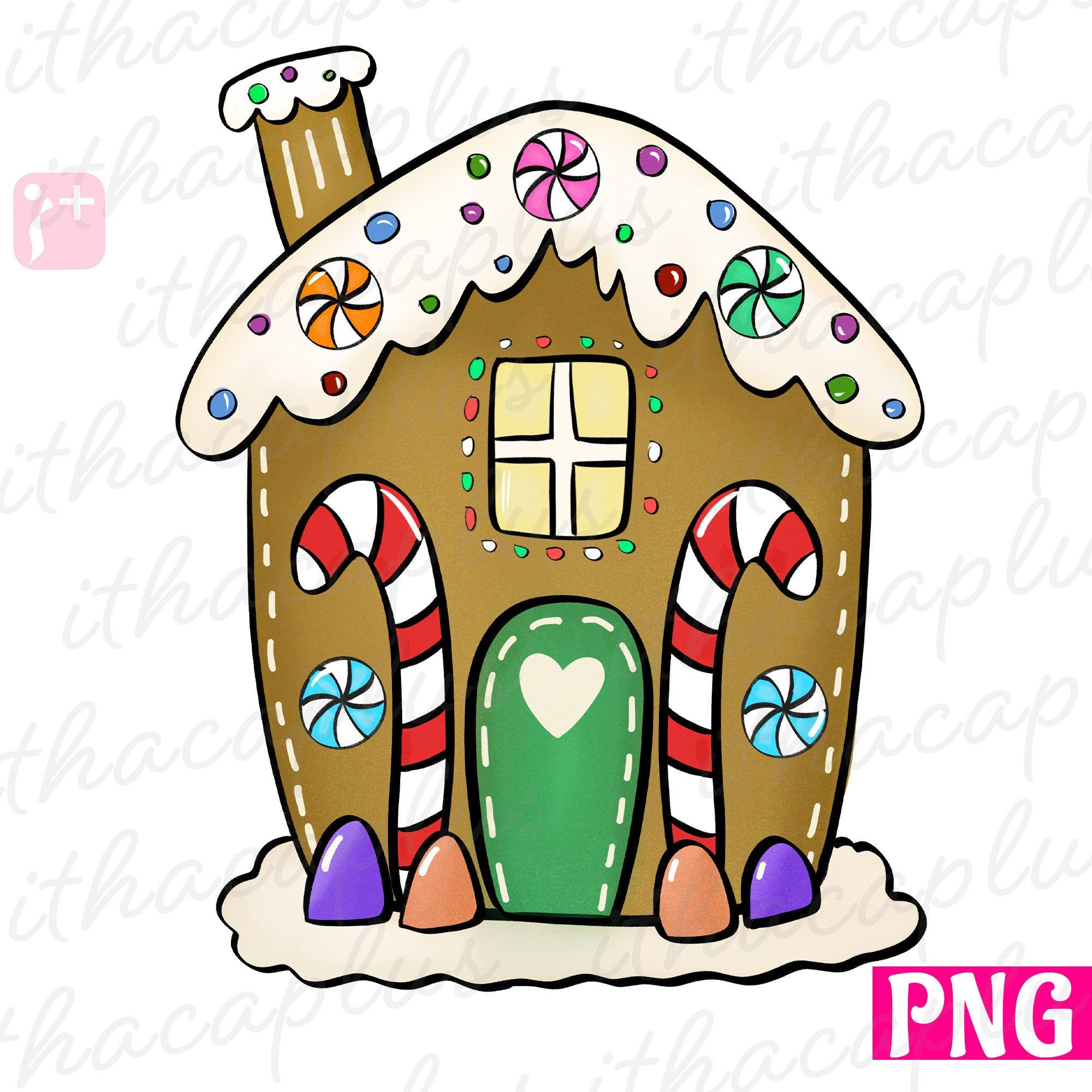 34++ Gingerbread house clipart images information