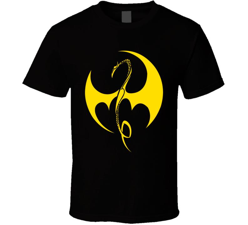 Iron Fist Yellow Logo Netflix Original Fan T Shirt