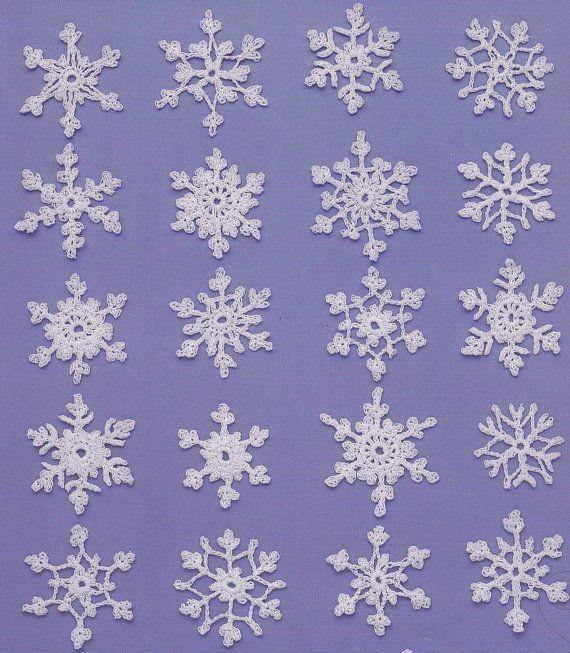 Snowflake Crochet Patterns Teeny Tiny