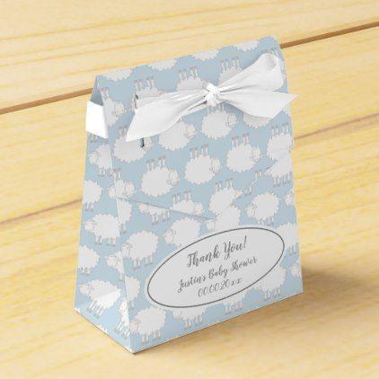 5ba31ce910fc Cute sheep pattern baby shower party favor boxes - patterns pattern special  unique design gift idea diy