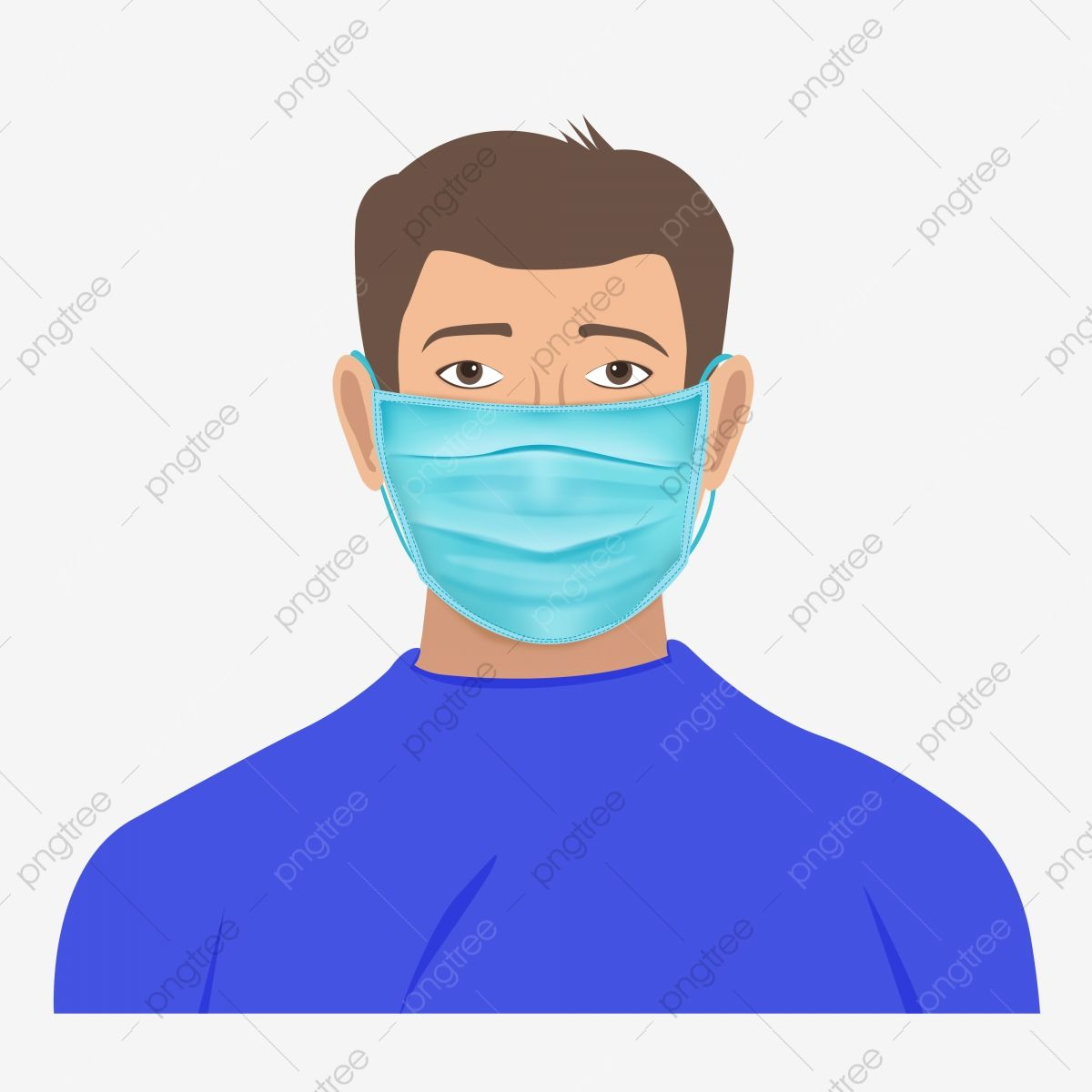Medical Protection Mask Wearing Boy Sick Clipart Mask Wear Boy With Mask Png Transparent Clipart Image And Psd File For Free Download Geometric Pattern Background Graphic Resources Medical Illustration