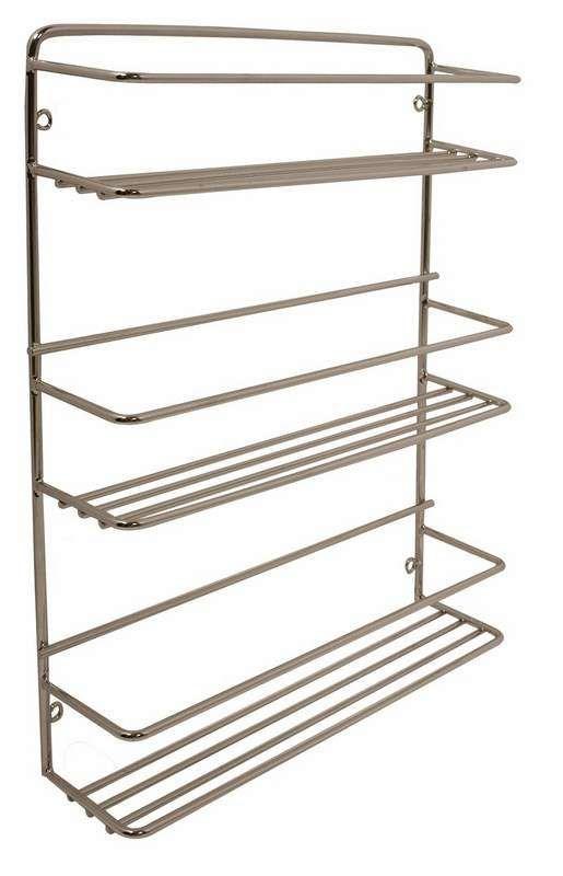 Gelmar Handles Furniture Fittings Spice Rack 3 Tier Chrome Wood Spice Rack Diy Spice Rack Spice Rack