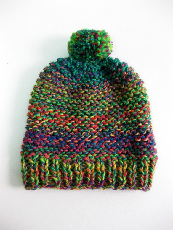 Gorro Lana Niños | crochet | Pinterest | Lana, Gorros y Patrones ...