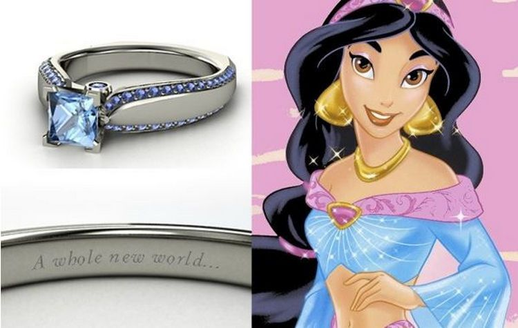 22 DisneyInspired Engagement Rings That Will Make You Feel Like a