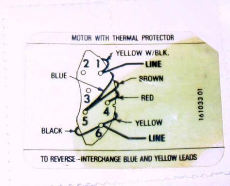 Century AC Motor Wiring Diagram | Electrical | Washing