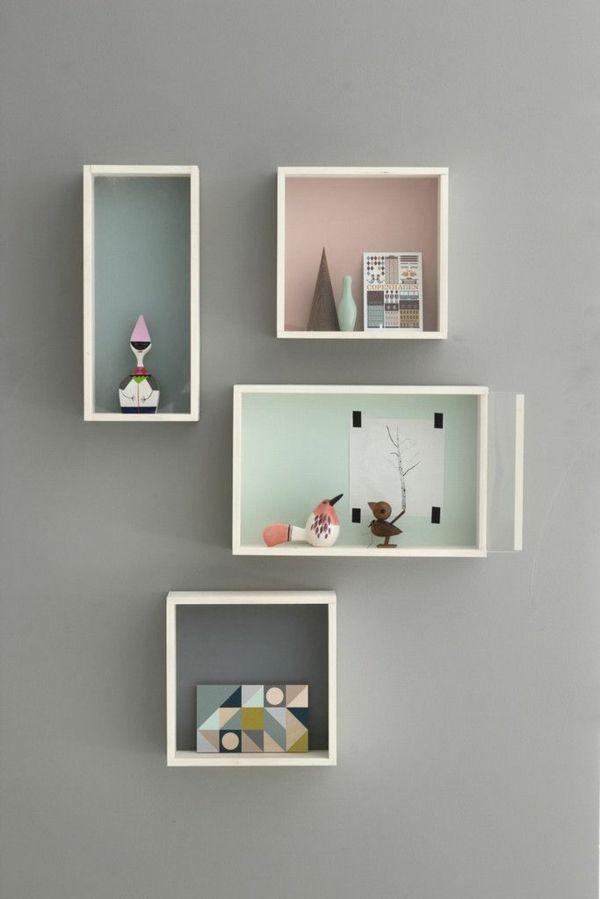 Wanddeko Ideen farbgestaltung im wohnzimmer wandfarben auswählen und gekonnt
