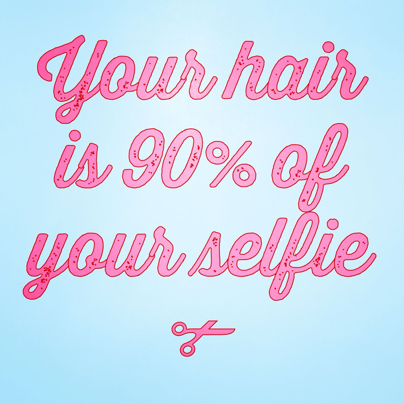 Your hair is 90% of your selfie.  Hair pics.. Instagram @ SamRHairLife