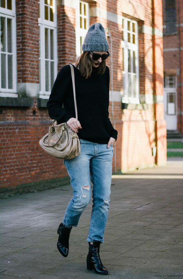 Polienne | a personal style diary: DARK SPRING LOOK