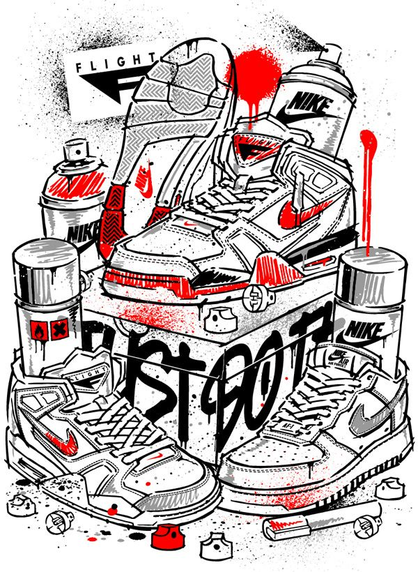 37c6b56bfc1f NIKE APPAREL DESIGN VIII  MONICA 209 TWIN Sneakers Sketch