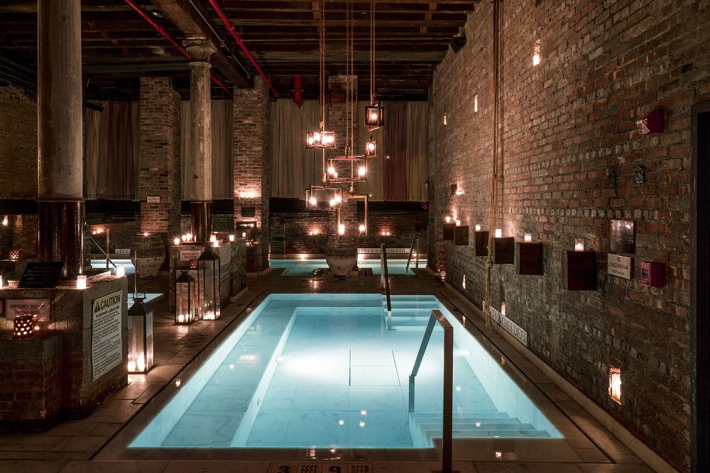 Aire ancient baths new york Thermal bath, Most romantic