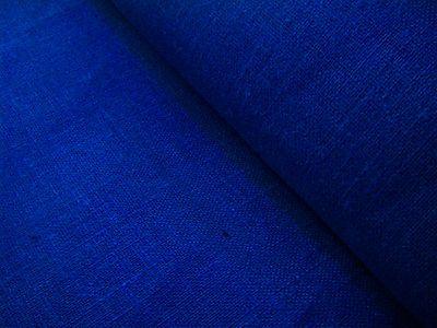 Royal Blue Burlap Pure Linen Flax Dense Fabric Decorator Color Eco Friendly | eBay