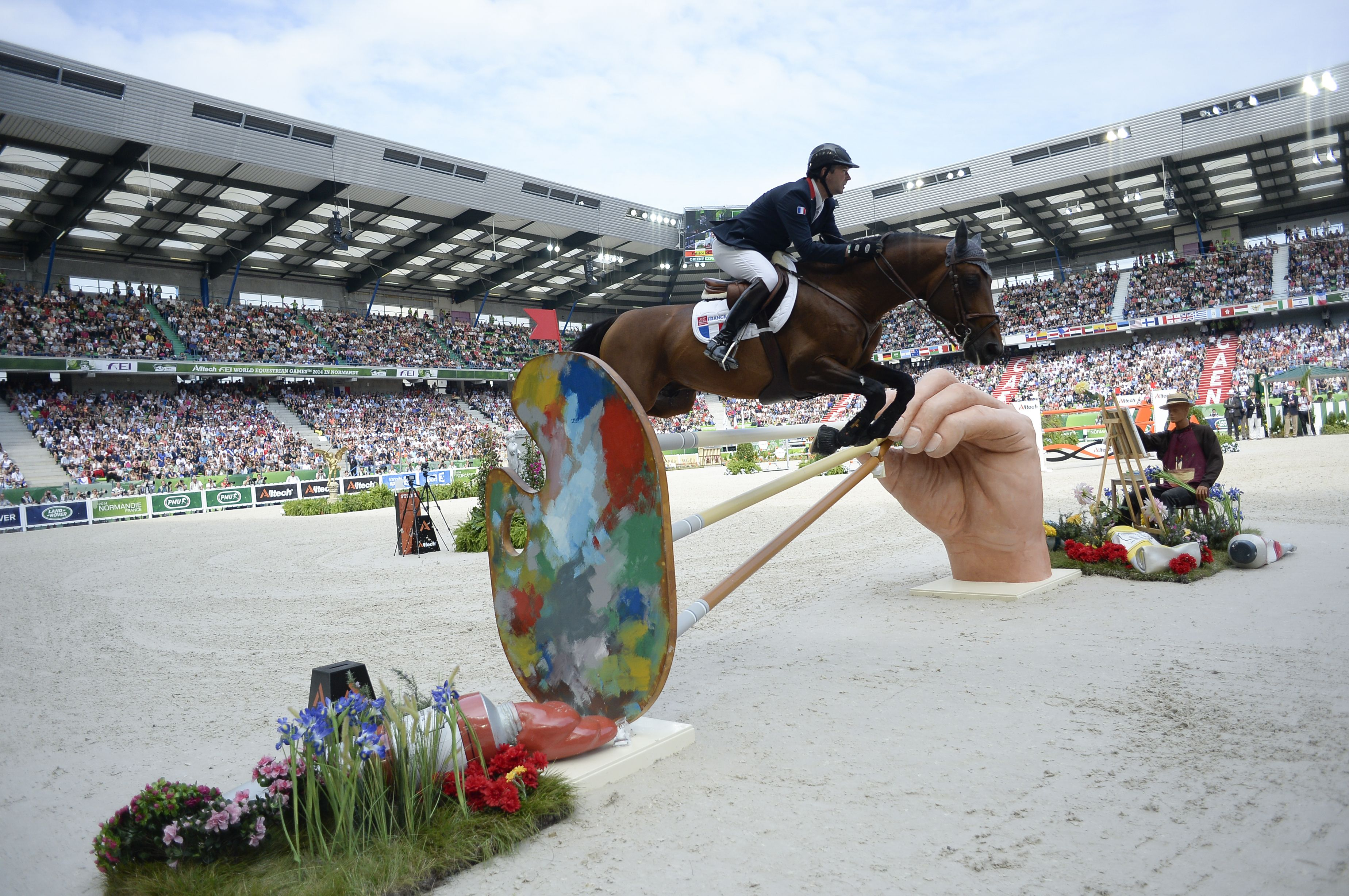Patrice #DELAVEAU #WEG2014 #Normandy2014 #France #Horses #Equestrian