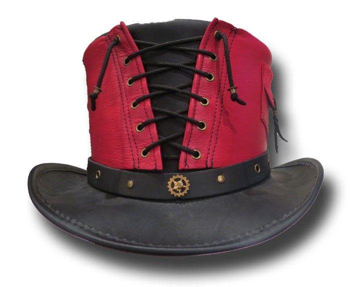 Vested Steam Punk Top Hat - Chapel Hats
