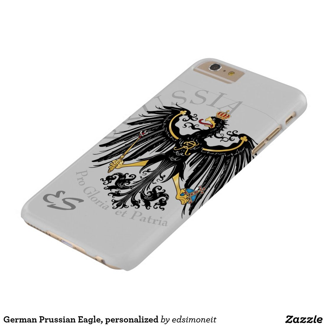 German Prussian Eagle, personalized