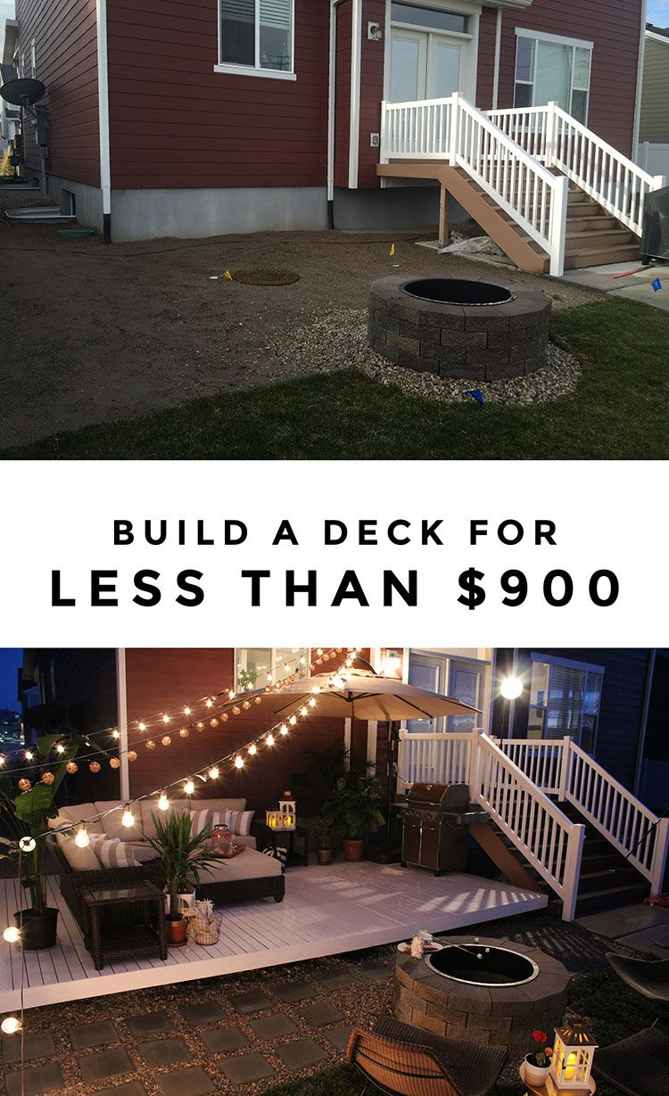 Diy patio decorating ideas - Cable This Deck Makeover Includes So Many Great Outdoor Decorating Ideas
