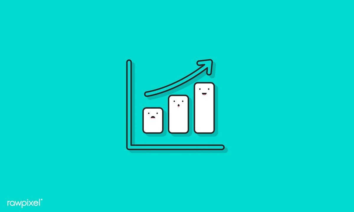 Illustration Of Data Analysis Graph Free Image By Rawpixel Com