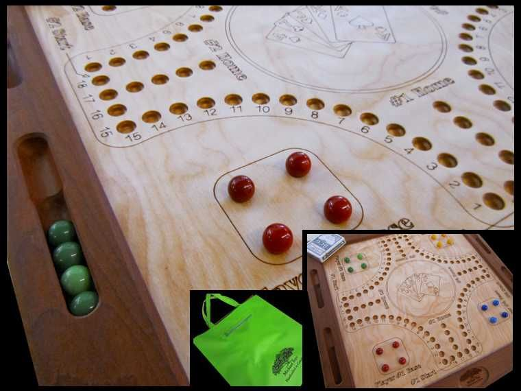 Marbles and cards Michaud Toys Cottage inspiration