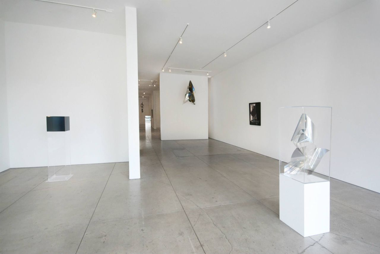Larry Bell Artist Exhibition Sculptures Paintings Peter Blake