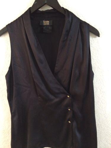 ! ESCADA COUTURE Top Size 38 100% Silk for sale!