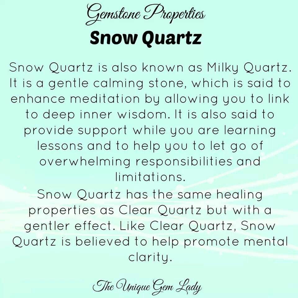 Snow Quartz Snow Quartz Meditation Crystals Quartz Properties
