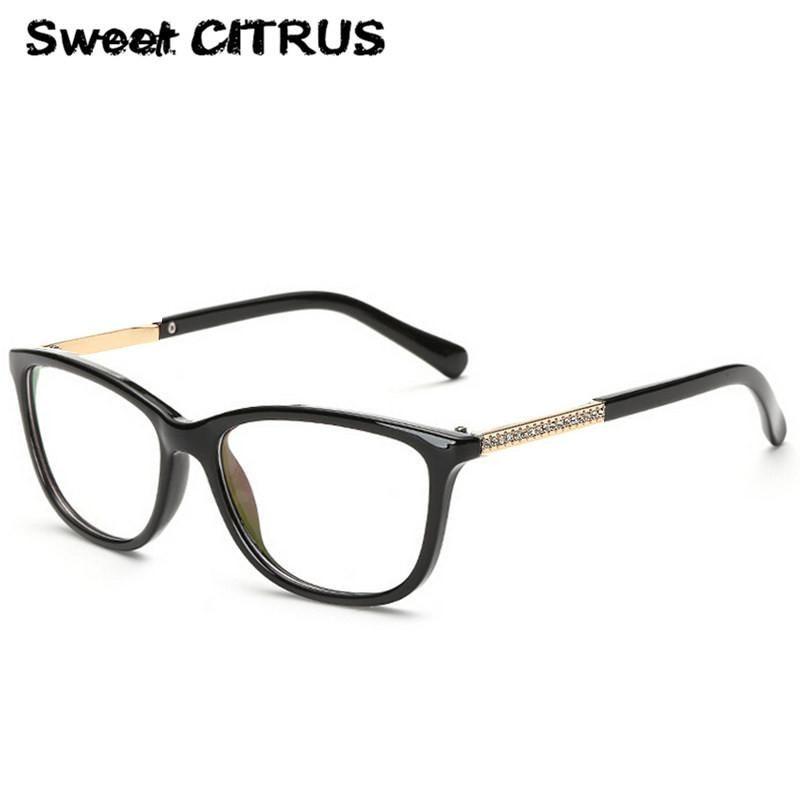 8bd9c4c62b Sweet CITRUS 2017 New Brand Optical Glasses Frame Vintage Women Reading  Eyewear Lady Computer Glasses oculos de grau femininos