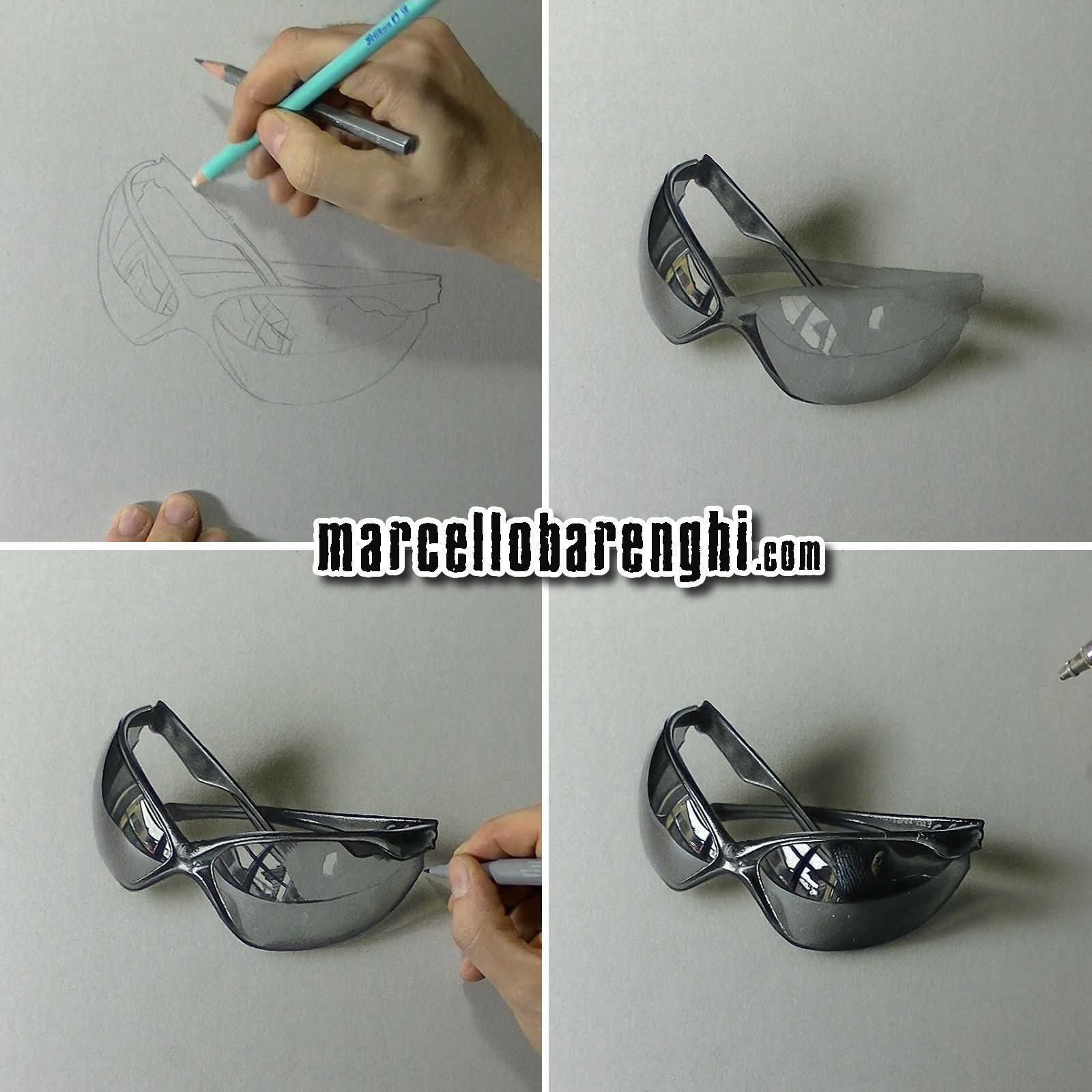 3d drawing tutorial using pencil