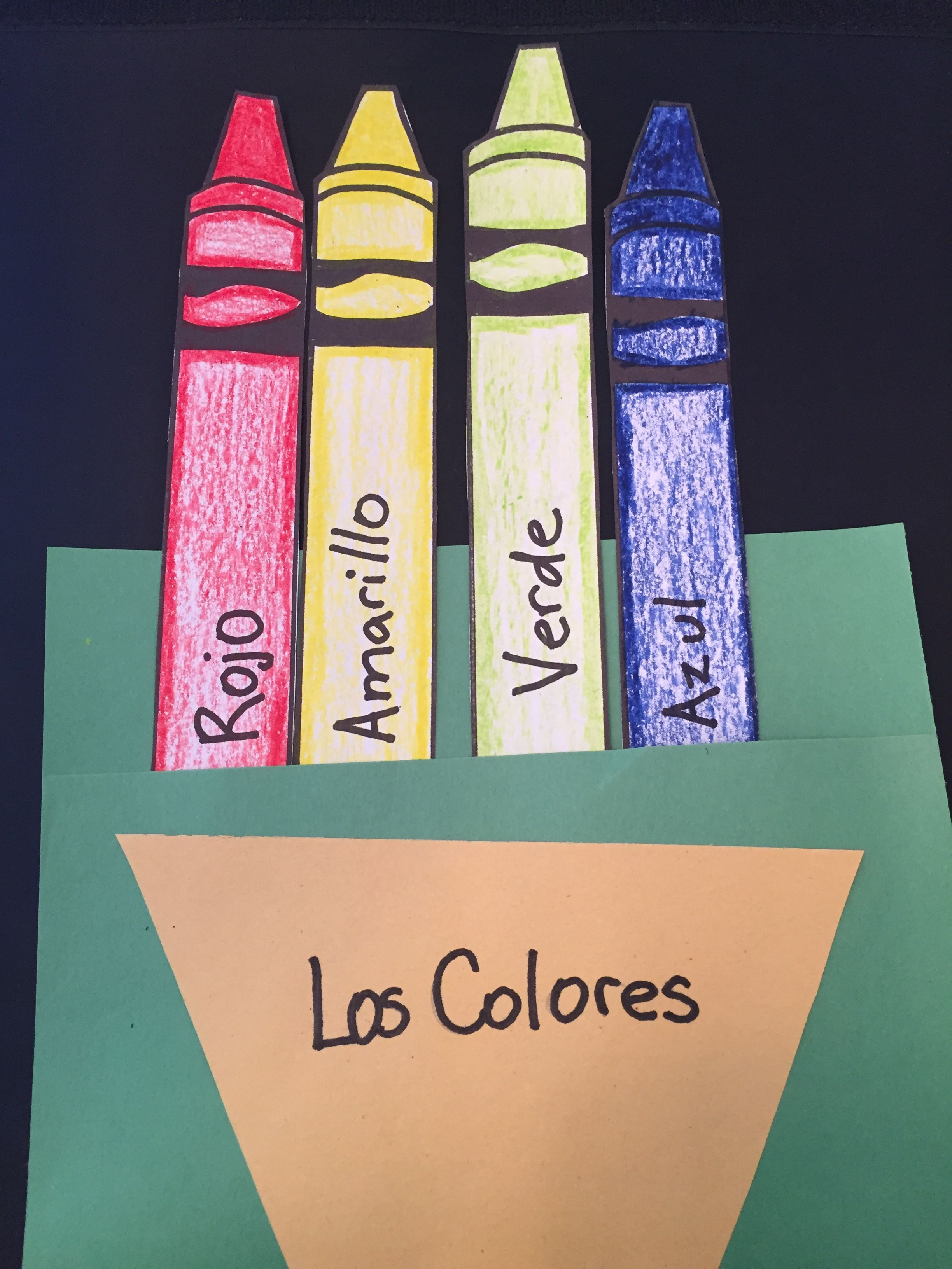 Colors In Spanish For Kids In