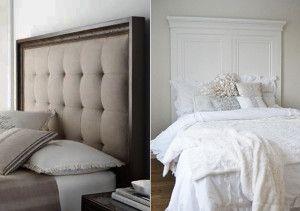 50 Schlafzimmer Ideen für Bett Kopfteil selber machen | Schlafzimmer ...