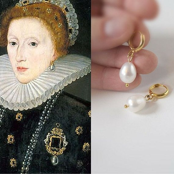 Image result for pearl earring 16th century