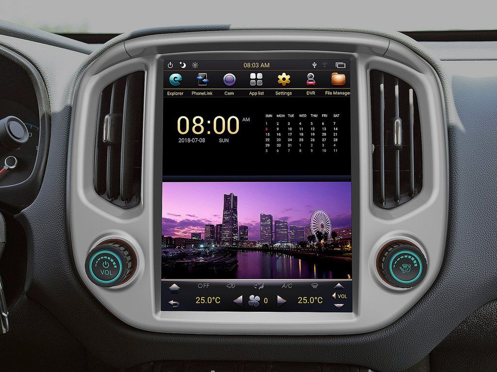 this radio can be installed in chevrolet colorado gmc canyon 2015 2019 stunning feature rich plug and play retain most oem features  [ 1024 x 768 Pixel ]