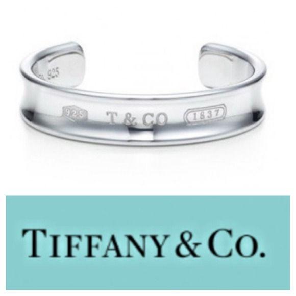 Tiffany Co 1837 Cuff Tiffany Co Cuff Silver