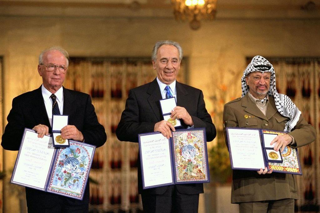Image result for rabin nobel peace prize