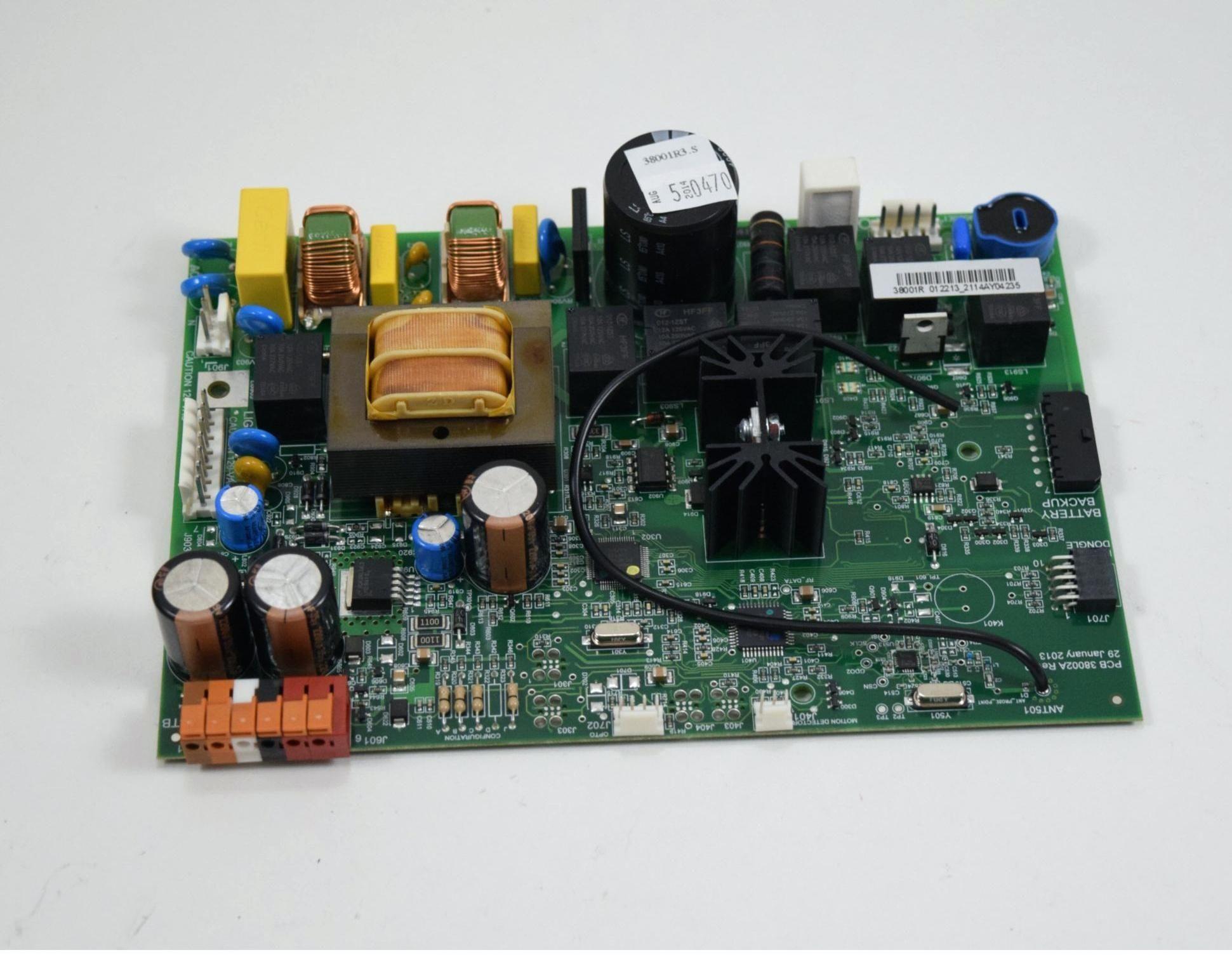 Stanley Garage Door Opener Receiver And Triple Transmitter Set
