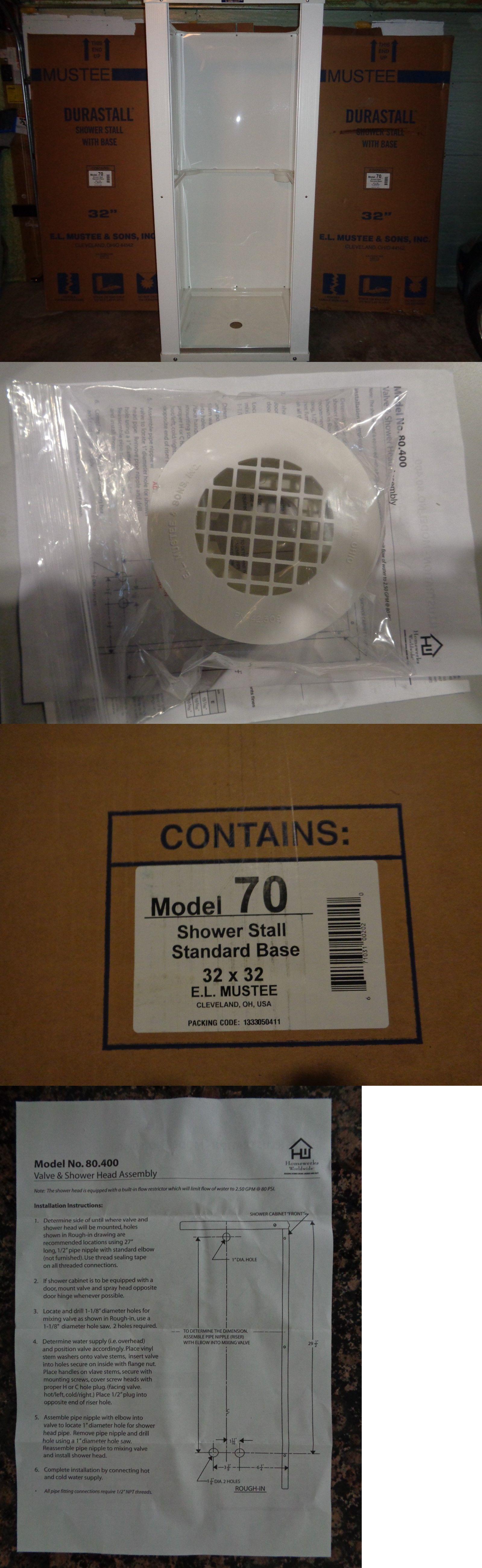 Shower Enclosures and Doors 121850: 32 X 32 X 75 Complete Standard ...