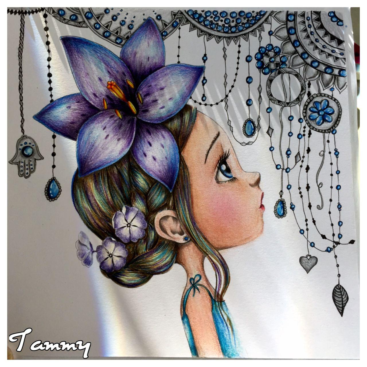 Jewel Coloriage Wild By Emmanuelle Colin Emmanuelle Colin