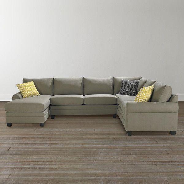 Bassett Furniture Cu 2 Custom U Shaped Sectional Custom Order Your Piece At Jacobs Upholstery M Double Chaise Sectional U Shaped Sectional Sofa U Shaped Sofa