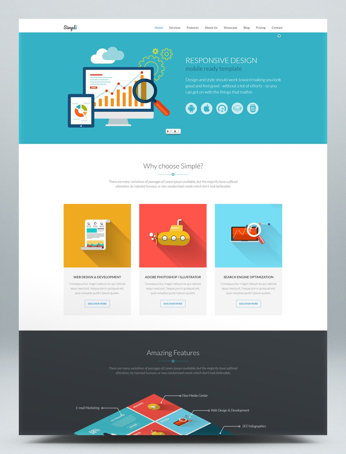 Responsive Landing Page Html Website Template Landing Page Html Website Template Landing Page