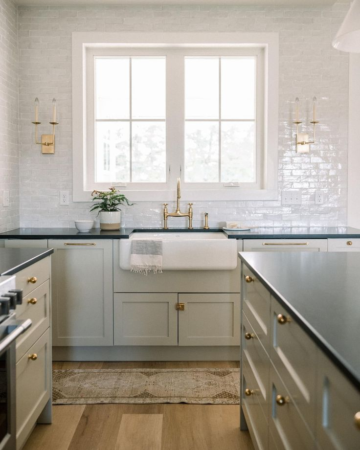 Right Angle Double Sconce in 2020 | Neutral kitchen inspiration, Kitchen redo, Kitchen remodel