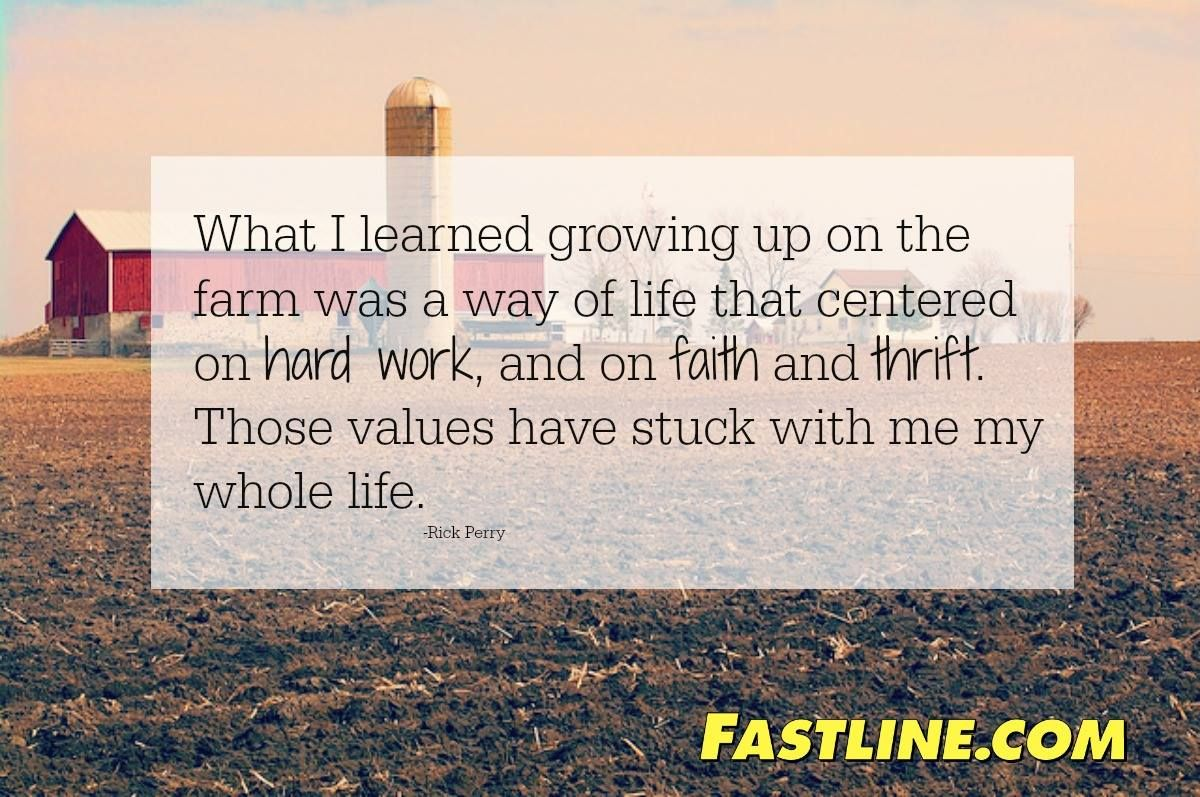 Values learned on the Farm     Life Values! | Life on the