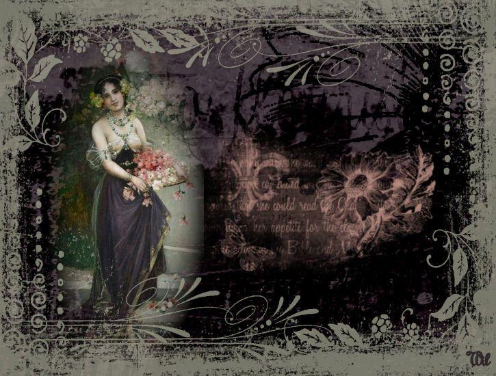Vintage lady-Wil