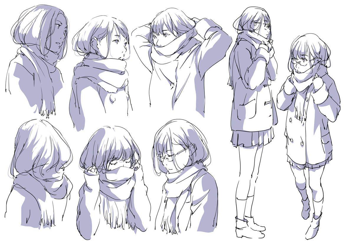 Pin On Character Design Teen Girls