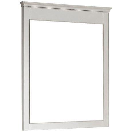 Avanity Windsor White 30 X 36 Rectangular Wall Mirror 2m723