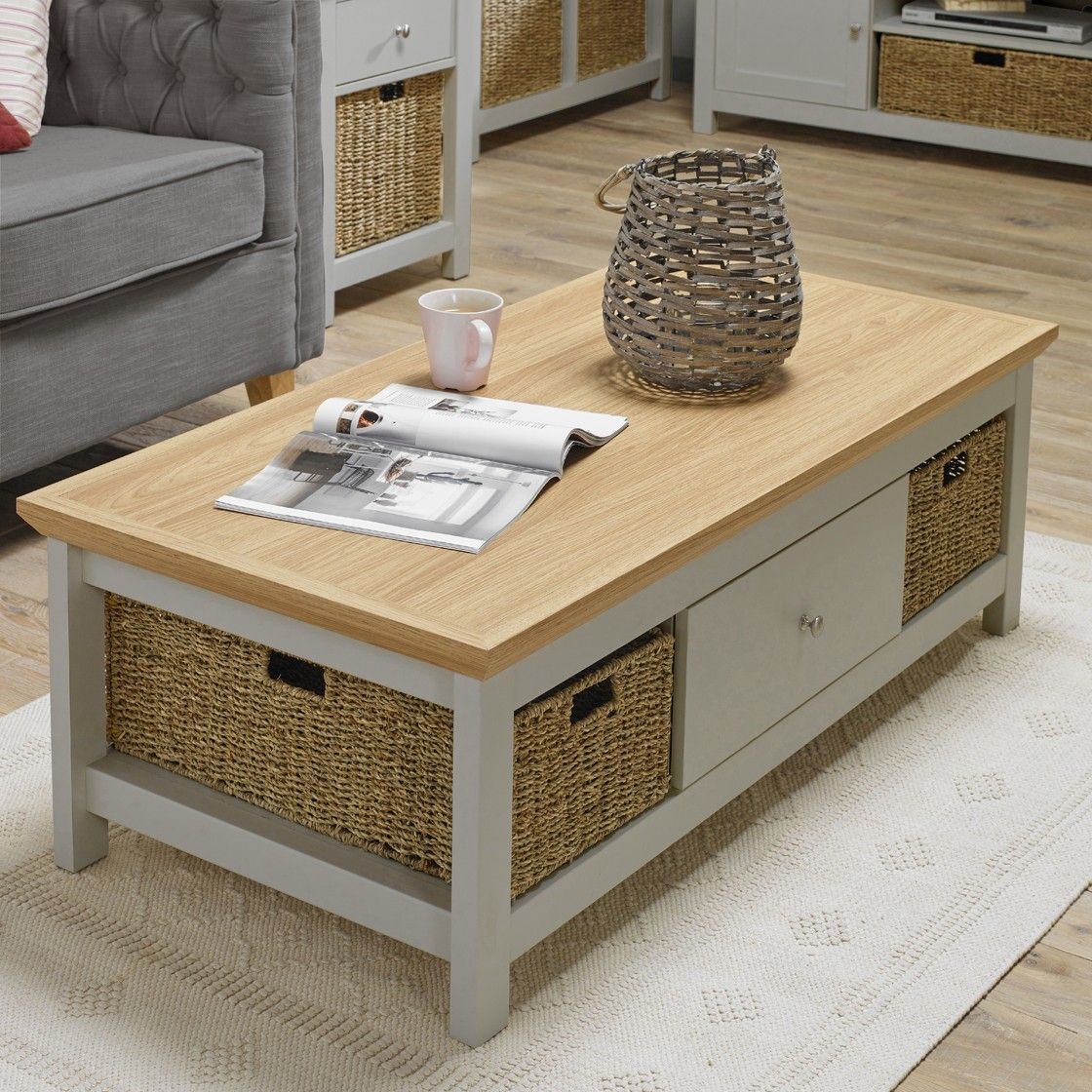 Cotswold Coffee Table Grey Home Store Living Coffee Table Coffee Table Grey Wooden Coffee Table [ 1120 x 1120 Pixel ]