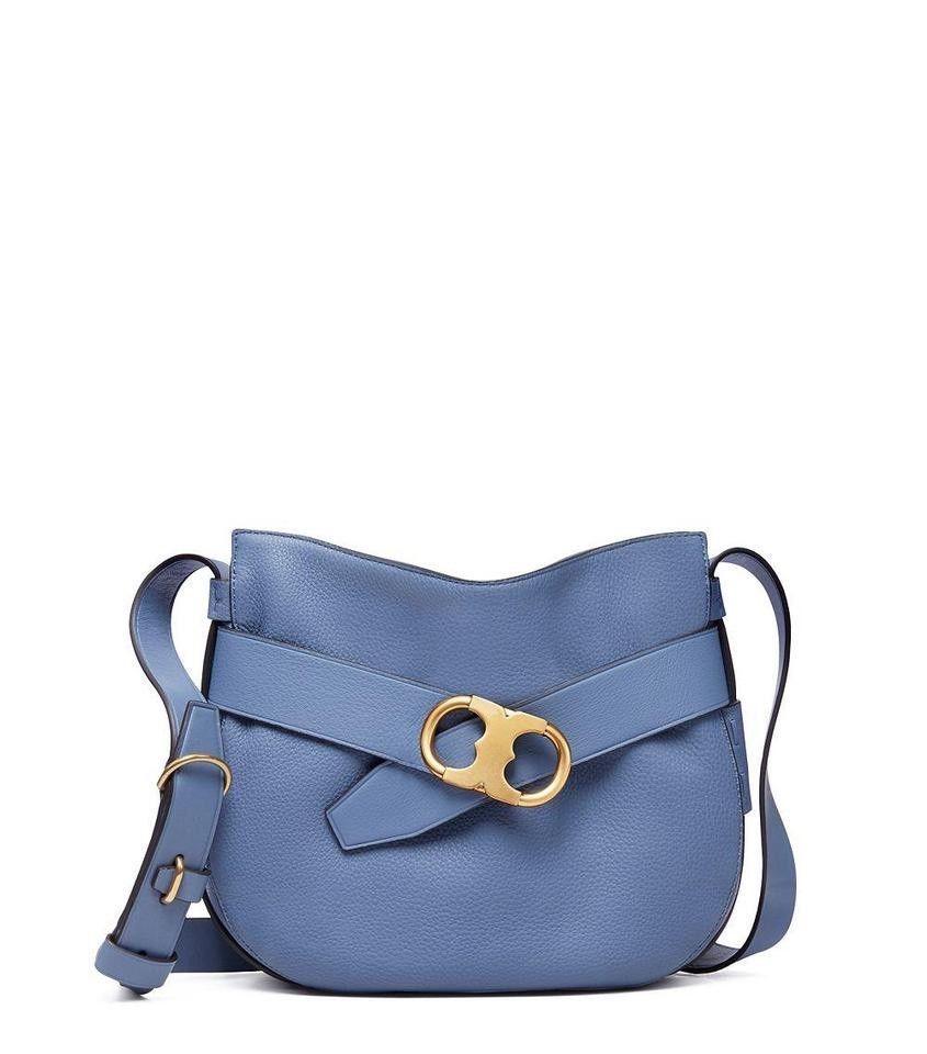 1365ad2b1 NWT $495 Tory Burch Gemini Link Crossbody Bag in Wallis Blue ...