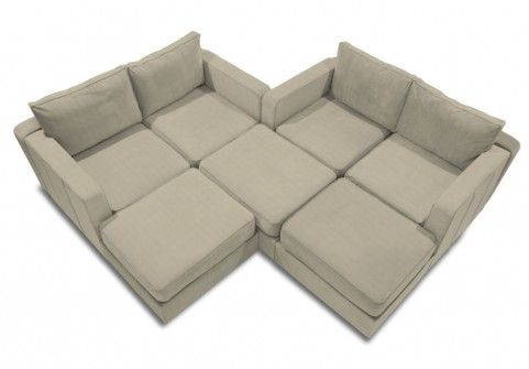 A Bird S Eye View Of The M Lounger Sactional Configuration This Can Be Made With 7 Bases And 8 Sides Lovesac Sectional Sofas Furniture