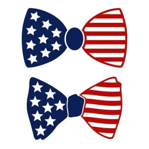 American Flag Bow Tie Cuttable Design Available For Free Today Only 6 15 17 Cricut Projects Vinyl American Flag Bow Vinyl Crafts